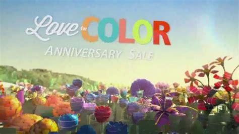 sherwin williams love  color anniversary sale tv