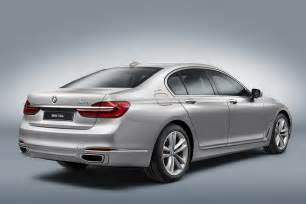 Bmw Hybrid New Bmw 7 Series Hybrid Unveiled Before Geneva Debut