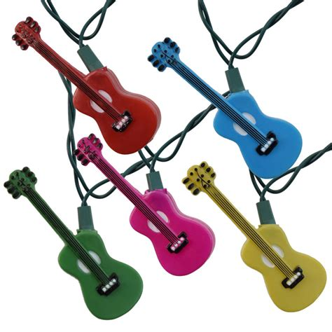 guitar strings light multi color guitars novelty string lights