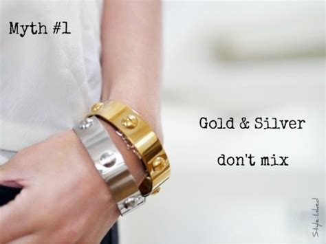 mixing gold and silver gold silver or rose gold mix metals and rock all