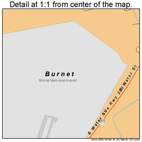 burnet county texas map burnet texas map 4811464