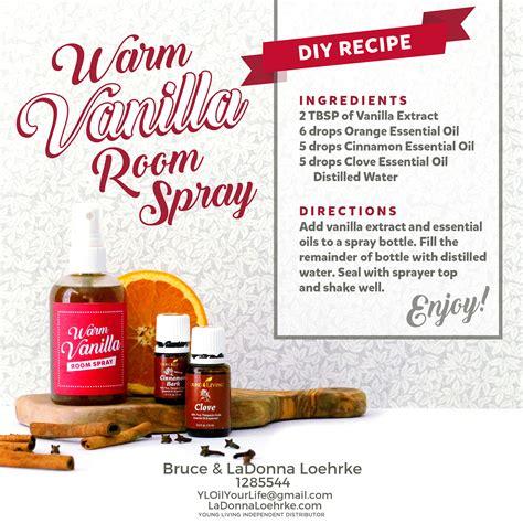 essential room spray recipe warm vanilla room spray diy recipe with living essential oils fall yl wellness season