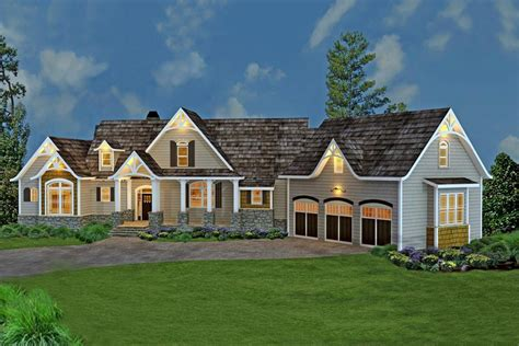 houses with inlaw suites country craftsman home with photos 3 bedrooms plan 106 1274