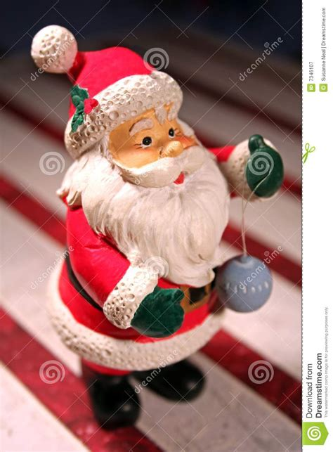 Minil Santaklaus santa claus miniature figure royalty free stock