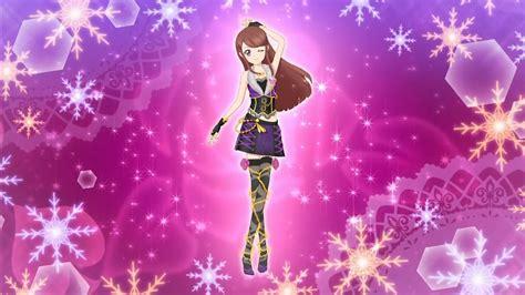 Aikatsu Spicy Ageha Houndstooth Dress image aikatsu ran spicyageha winter ed png aikatsu wiki fandom powered by wikia