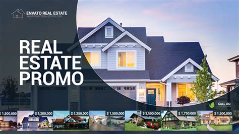 Real Estate Promo After Effects Template Videohive 19563402 Ae Templates Videohive Real Estate After Effects Template