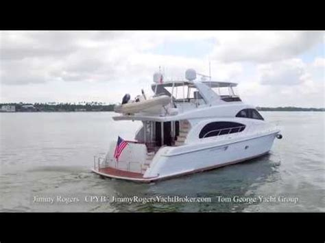 2007 hatteras 64 motor yacht offered for sale by jimmy