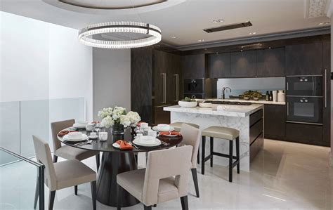 Kitchen Table Or Island belgravia grand townhouse luxury interior design laura
