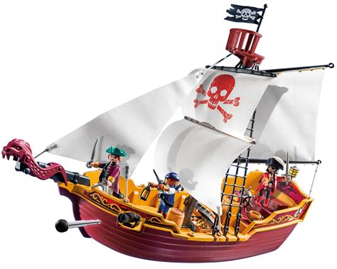 barco pirata playmovil playmobil 174 red serpent pirate ship toys games