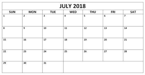 2018 editable calendar templates editable july 2018 word calendars templates calendarbuzz