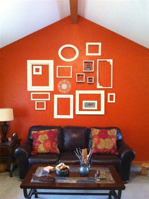 burnt orange walls living room 218 best images about hooked on home decor on pinterest