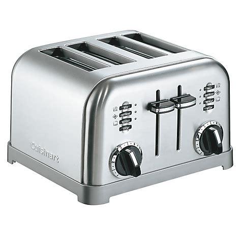 tostador electrico tostador el 233 ctrico cpt180e 4p cuisinart falabella