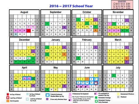 Broward School Calendar 2017 2016 Broward Schools Calendars