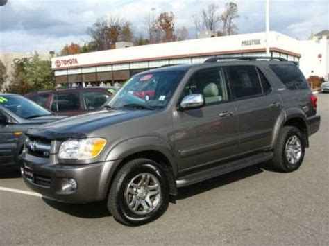 2007 Toyota Sequoia For Sale Used 2007 Toyota Sequoia Limited 4wd For Sale Stock