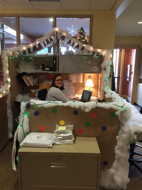 christmas decoration compitition roost announces winners of cubicle decorating contest regional office of sustainable tourism