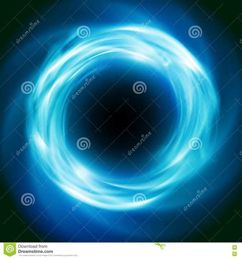 abstract nova wallpaper cosmic vector background with blue glowing vortex stock
