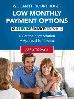 comfort masters service experts financing payment options service experts in wheeling