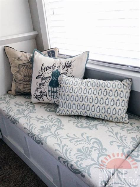 bench cushions diy the easiest way to make a custom bench cushion simple and