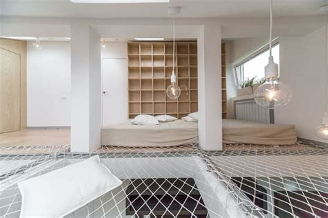 small apartment   hammock  covers  entire floor