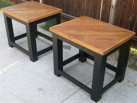 hometalk sized coffee table and end tables made