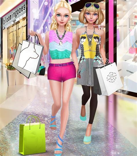 fashion doll shopping day spa fashion doll shopping day spa apk free casual android