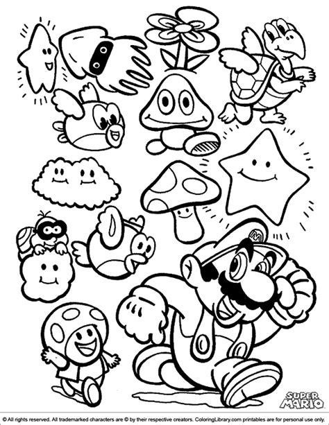 Dessins De Coloriage Mario Bros Imprimer Sur With