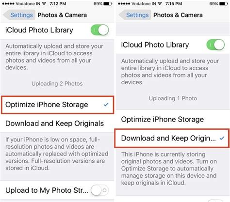 optimize iphone storage how to change iphone camera resolution settings photo