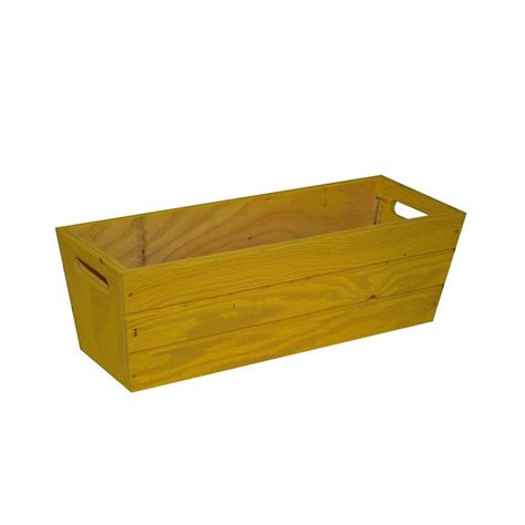 hollis wood products 36 in x 19 in redwood planter box