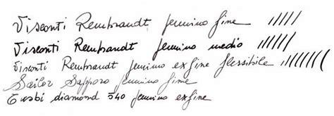 test scrittura test scrittura casa della stilografica vendita