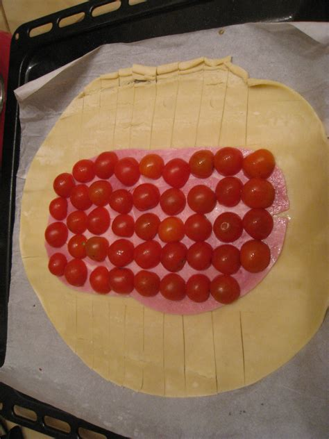 feuillet 201 jambon mozzarella tomates cerises les petits plats de mimimarie