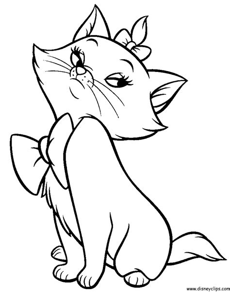 The Aristocats Printable Coloring Pages Disney Coloring Book Aristocats Coloring Pages