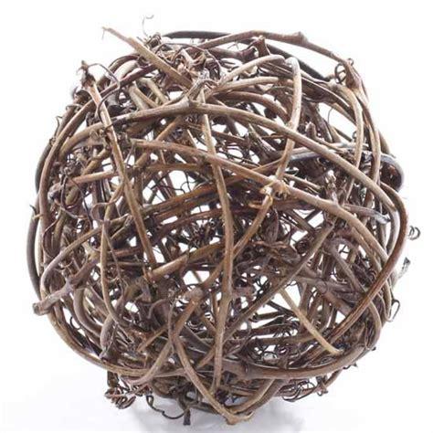 grapevine balls twig grapevine fixin s and fillers primitive decor