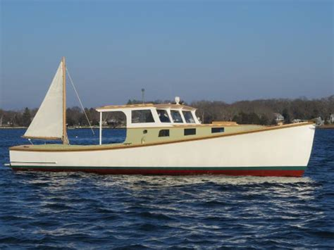 cheap used boats for sale in ct 1955 rockland boat company lobster boat mystic