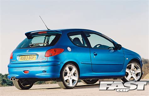 peugeot 206 gti peugeot 206 gti 180 buying guide fast car
