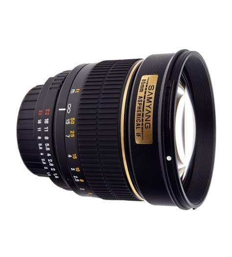 Samyang 85mm F 1 4 Canon samyang for canon 85mm f 1 4 aspherical if mc