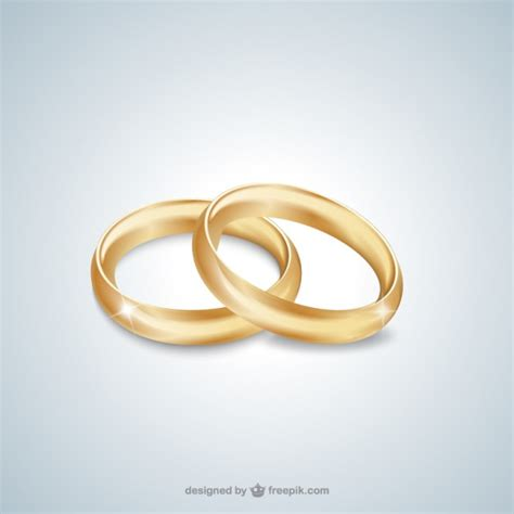 Wedding Ring Vector by Gold Wedding Rings Vector Free