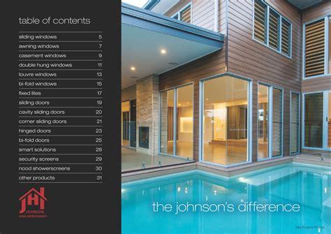 our catalogue johnson home improvements