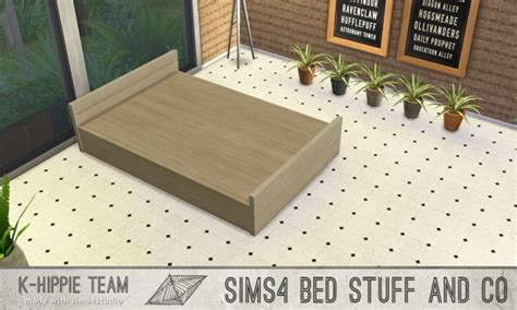 bed frame 187 sims 4 updates 187 best ts4 cc downloads