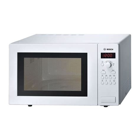 Weekend Models And A Dvd In A Microwave by Bosch 900w White Microwave Oven