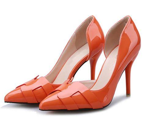 popular orange prom shoes buy cheap orange prom shoes lots