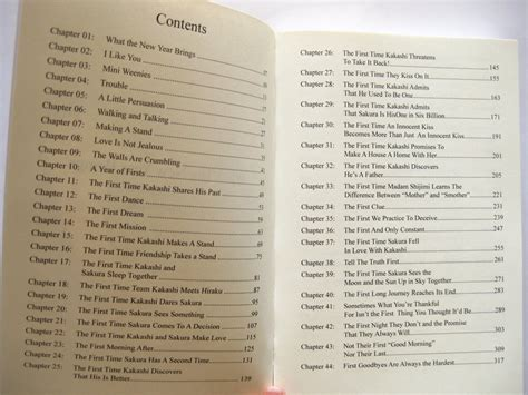 Book Table Of Contents by Wtnyb Book Table Of Contents By Shippertrish On Deviantart