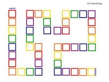 blank game boards by penny zaugg teachers pay teachers