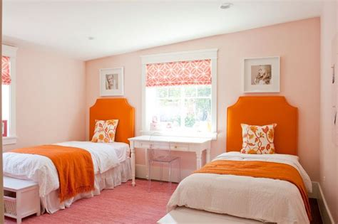 Orange Bedroom Walls by Best 25 Orange Bedrooms Ideas On Orange