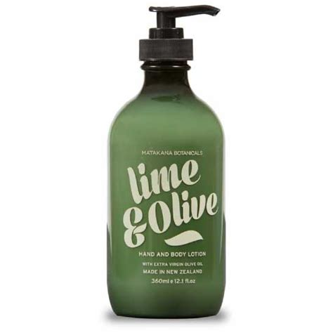 Lime And Olive Detox by Matakana Botanicals Lime Olive Lotion