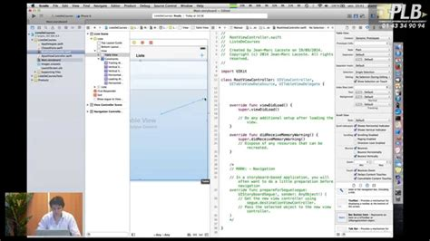 xcode tutorial deutsch swift tutorial swift fran 231 ais avec xcode 6 youtube