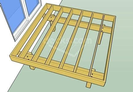 Freestanding Deck Plans by Freestanding Deck Plans Salmaun Me