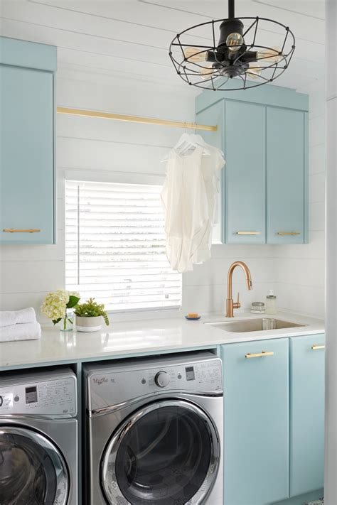 Painting Laundry Room Cabinets Turquoise Laundry Room Cabinet Paint Color Home Bunch Interior Design Ideas