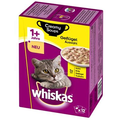 Whiskas 85 Gram whiskas karma dla kota tanio w zooplus whiskas 1 soup 12 x 85 g