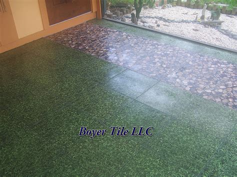 Patio Ceramic Tile by Ceramic Tile Outdoors Patio Tile Installation Boyer Tile