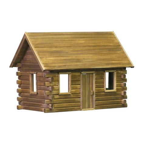 log cabin lets make this house into a home pinterest log cabin dollhouses real good toys